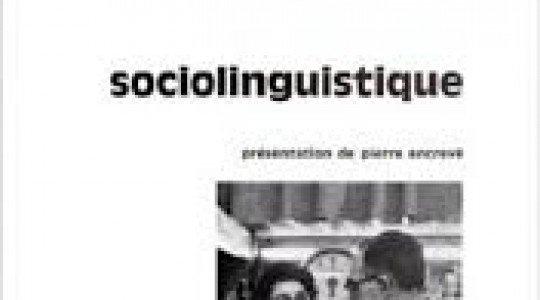 GOUAICH. L3. La sociolinguistique