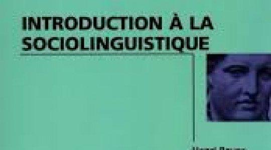 CHAPITRE I INTRODUCTION A LA SOCIOLINGUISTIQUE
